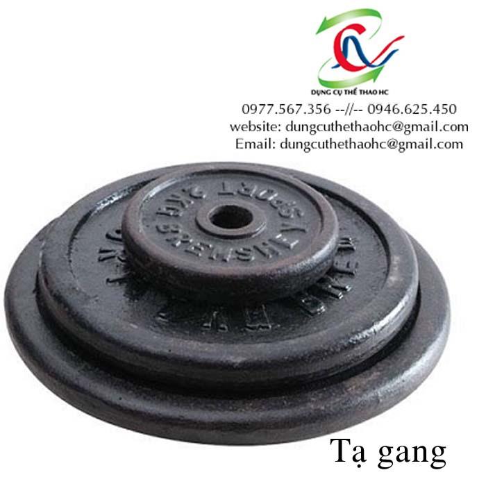 Tạ sắt giá rẻ tại Hà Nội