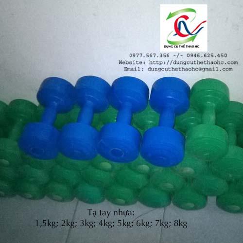 Địa chỉ bán Tạ tay nhựa