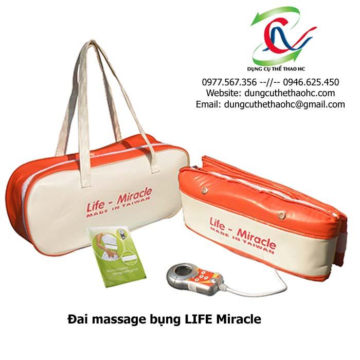 Đai massage bụng LIFE Miracle