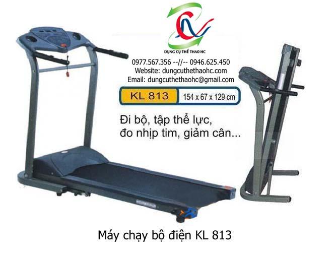 máy chạy bộ điện KL 813