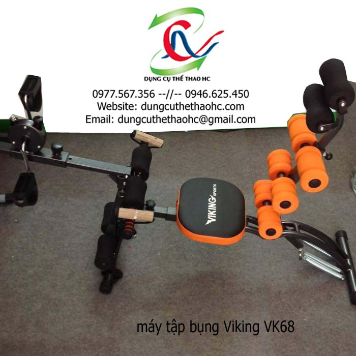 Máy tập cơ bụng Viking VK68