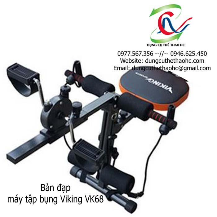 Bàn đạp máy tập cơ bụng Viking VK68