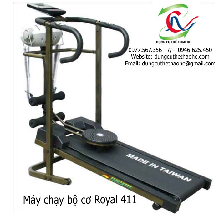 máy chạy bộ cơ royal 411