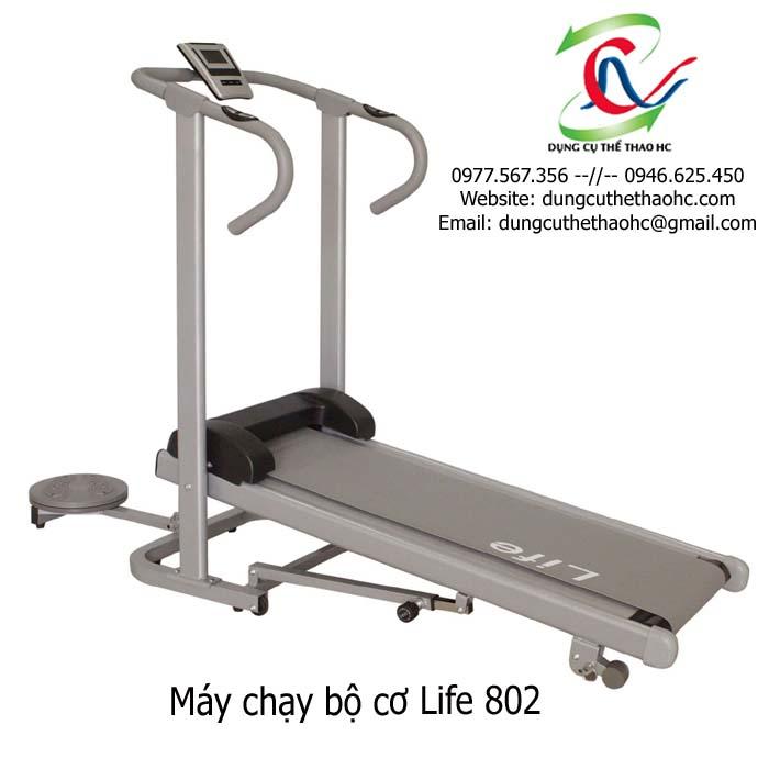 máy chạy bộ cơ Life 802