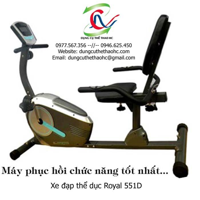 Xe đạp tập thể dục royal 551D
