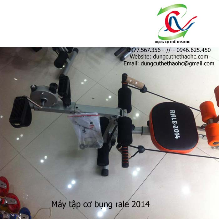Đạp xe Máy tập cơ bụng rale 2014