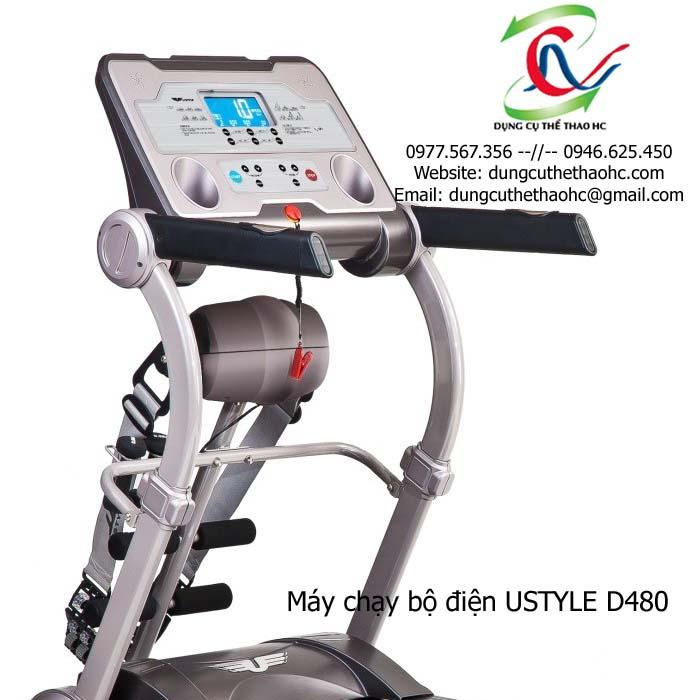 Máy tập chạy bộ điện USTYLE D480