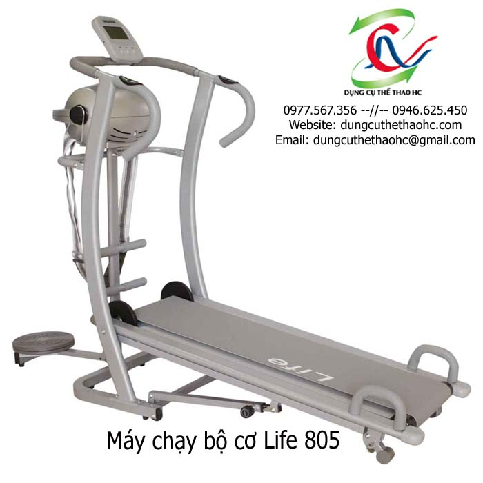 máy chạy bộ cơ Life 805