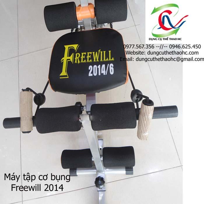 phần ghế ngồi Máy tập cơ bụng Freewill 2014