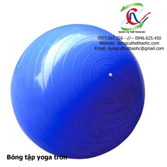 bóng tập Yoga trơn Fitness Ball