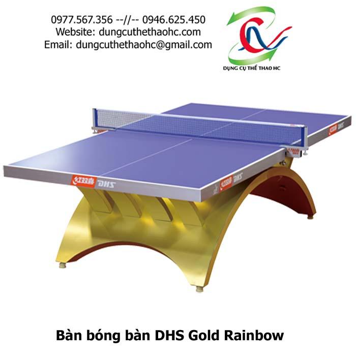 bàn bóng bàn DHS Gold Rainbow