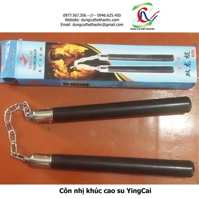 Côn nhị khúc cao su YingCai