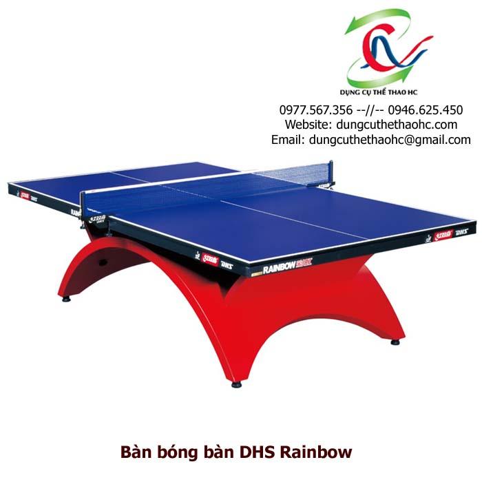 bàn bóng bàn DHS Rainbow