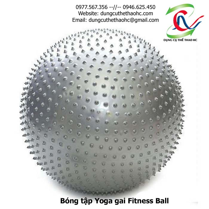 Bóng tập yoga gai Fitness Ball 75cm