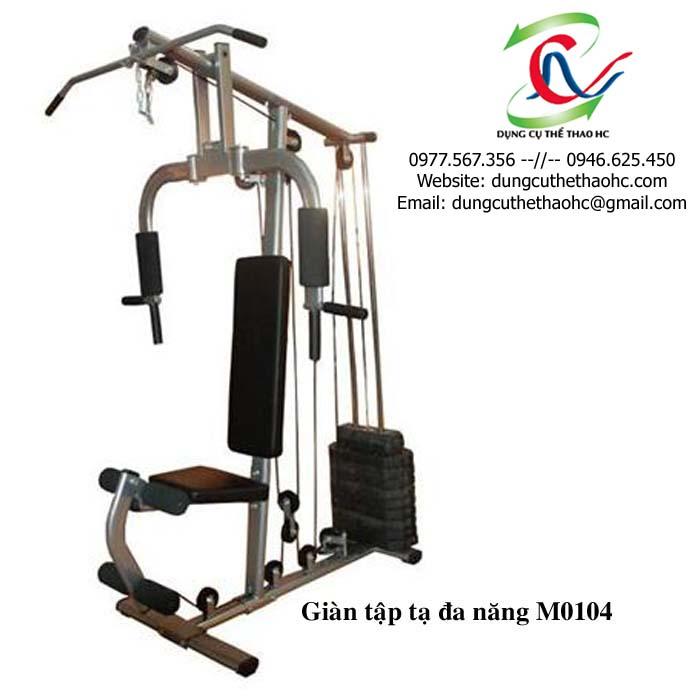 giàn tạ đa năng M0104 giá rẻ tại Thể Thao HC
