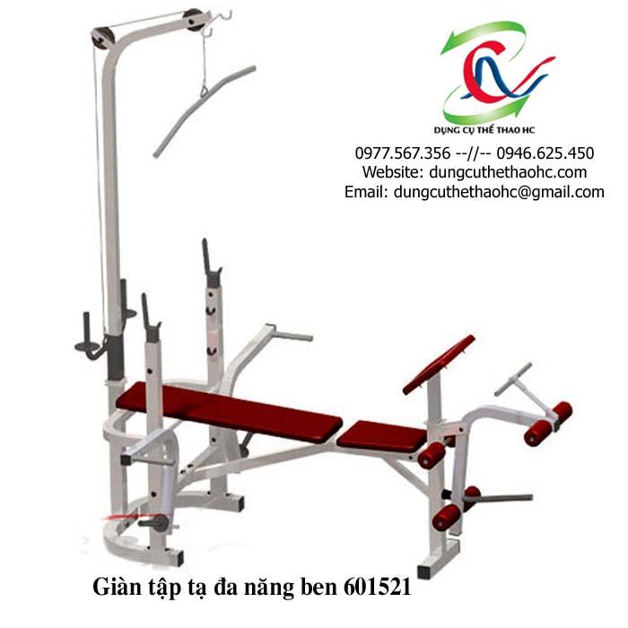 Ghế tập tạ đa năng ben 601521 giá rẻ tại Hà Nội