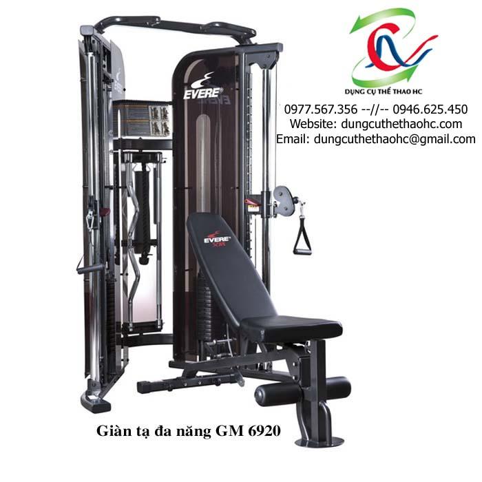 Giàn tạ đa năng GM 6920 giá rẻ tại Hà Nội