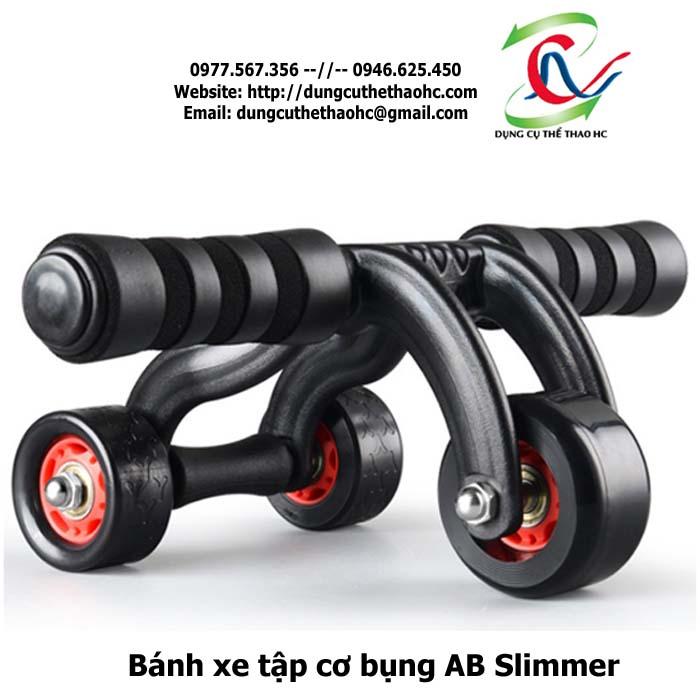 bánh xe tập bụng ab slimmer