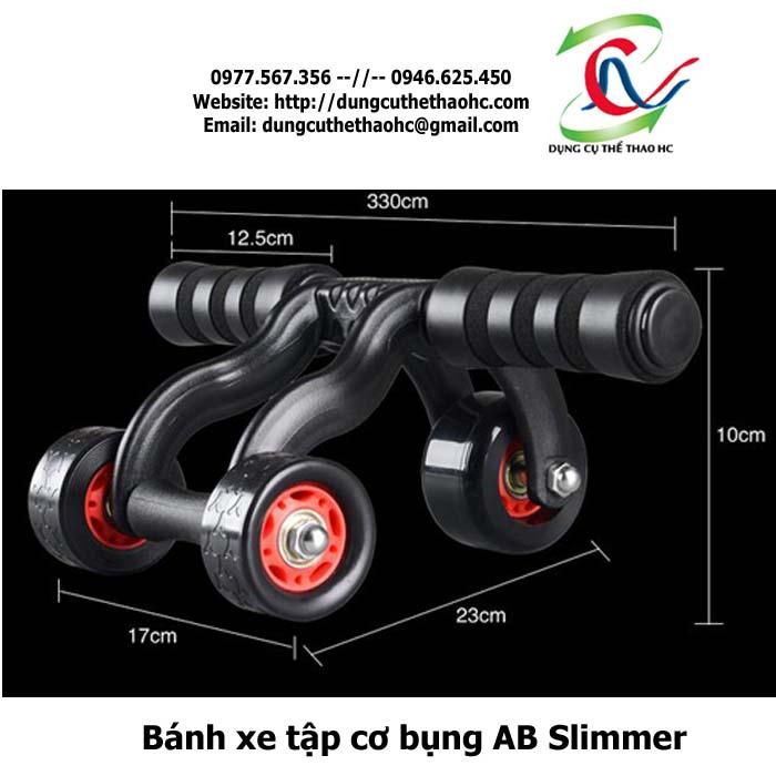 Kích thước máy tập bụng ab slimmer