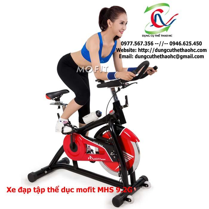 xe đạp tập thể dục mofit MHS 9.2G