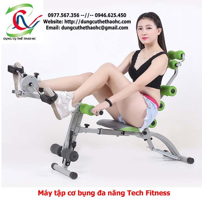 Máy tập cơ bụng đa năng Tech Fitness
