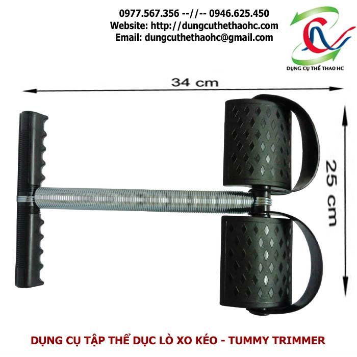 Dụng cụ tập thể dục lò xo kéo Tummy Trimmer