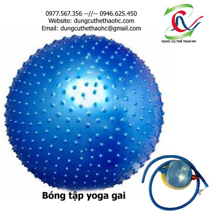 Bóng tập yoga gai 75cm