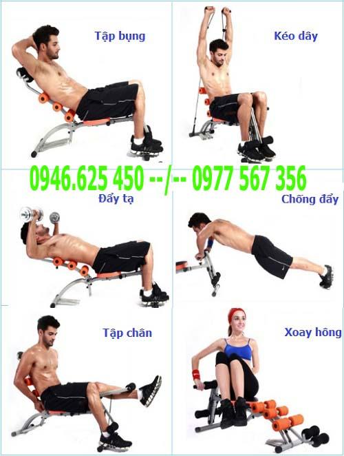 Sử dụng ghế tập bụng hiệu quả