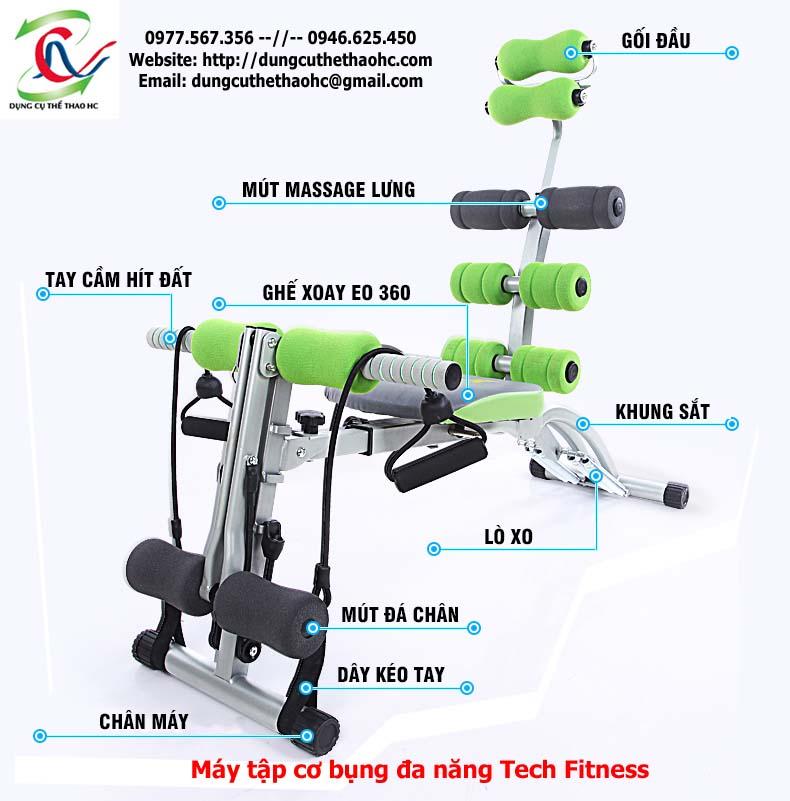 Máy tập thể dục đa năng Tech Fitness