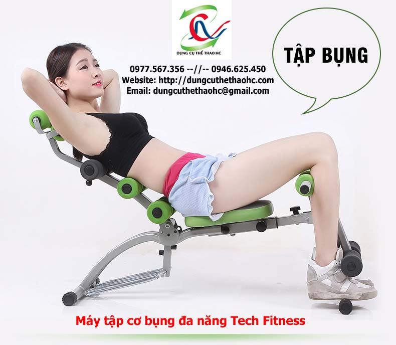 Máy tập cơ bụng Tech Fitness