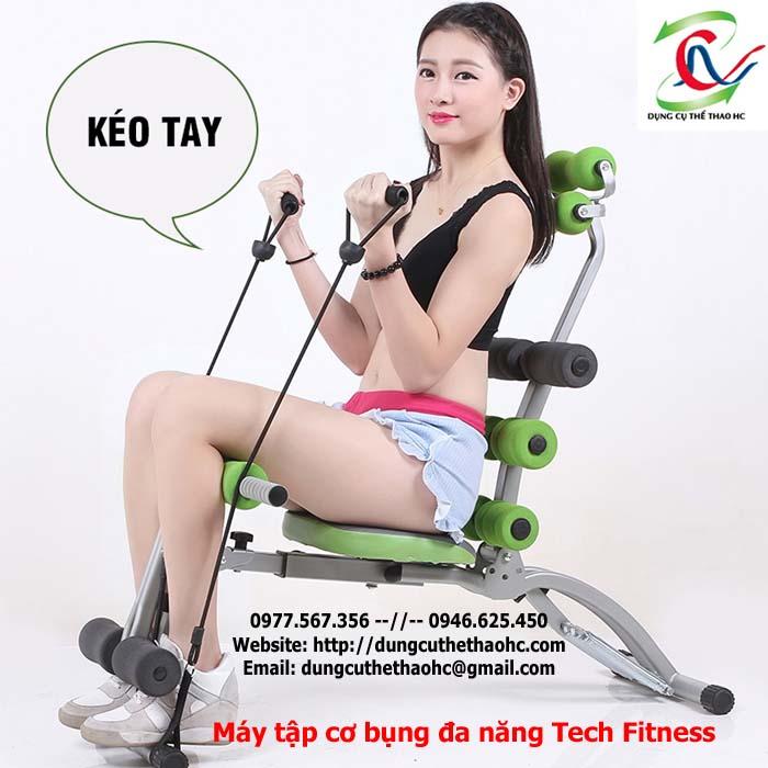 Dây kéo máy tập cơ bụng Tech Fitness