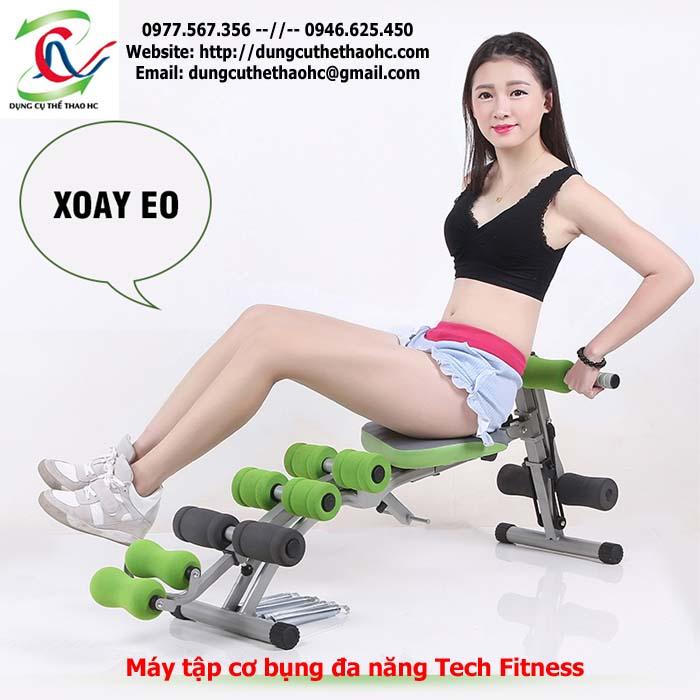 Máy tập cơ bụng Tech Fitness giá rẻ
