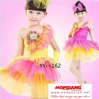 váy cực đáng yêu cho bé gái