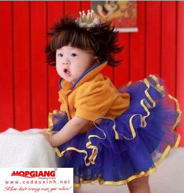 Váy cực yêu cho bé gái