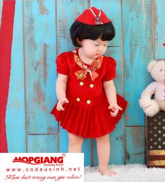 Váy nữ tiếp viên hàng không baby