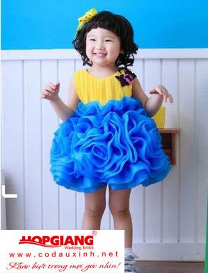 váy bé gái