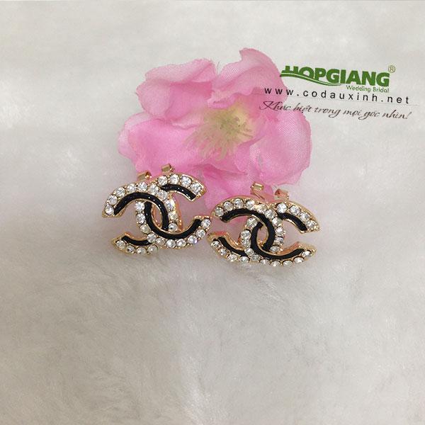 phụ kiện cưới cô dâu, trang sức mĩ kí, hoa tai thời trang