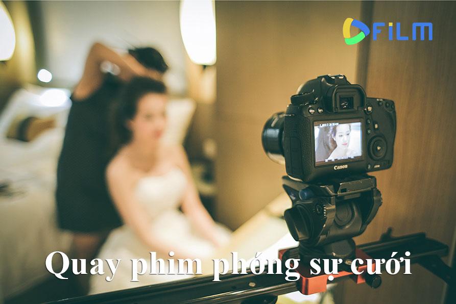Quay phim phóng sự cưới giúp bạn lưu giữ những giây phút lãng mạn, có một không hai trong ngày vui của bạn