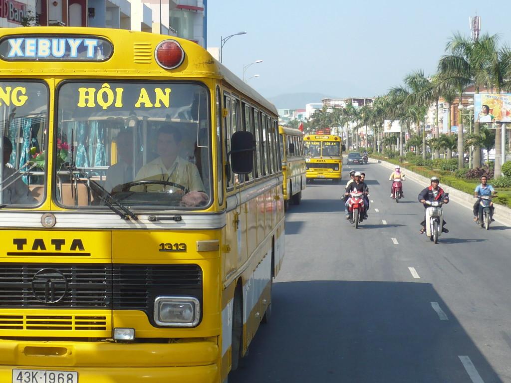 Các phương tiện đi du lịch Đà Nẵng - xe buýt
