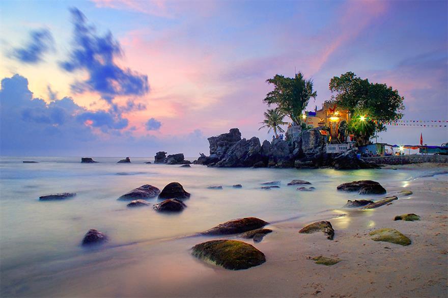 Hoàng hôn Dinh Cậu - Du lịch Phú Quốc