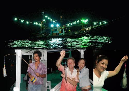 Câu mực đêm - Du lịch Phú Quốc