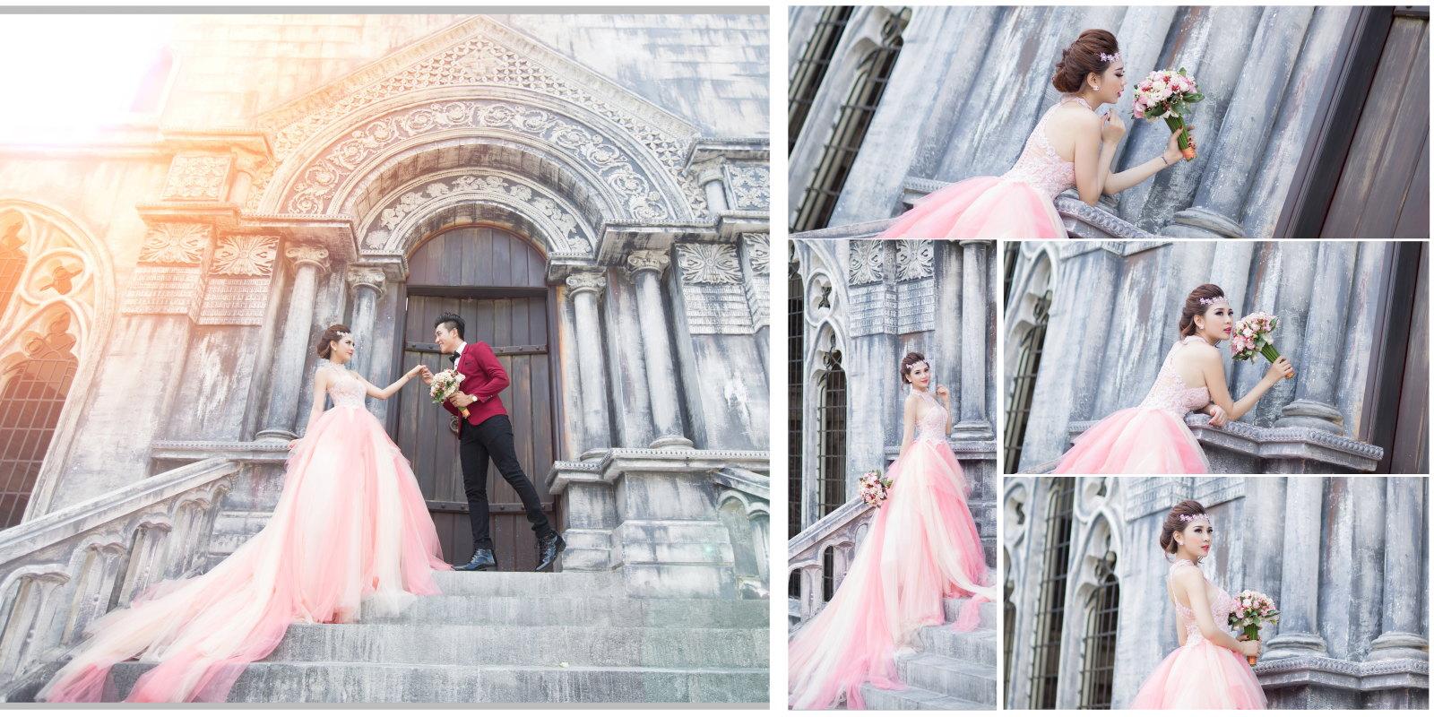 Chụp hình cưới phim trường đẹp trong sài gòn