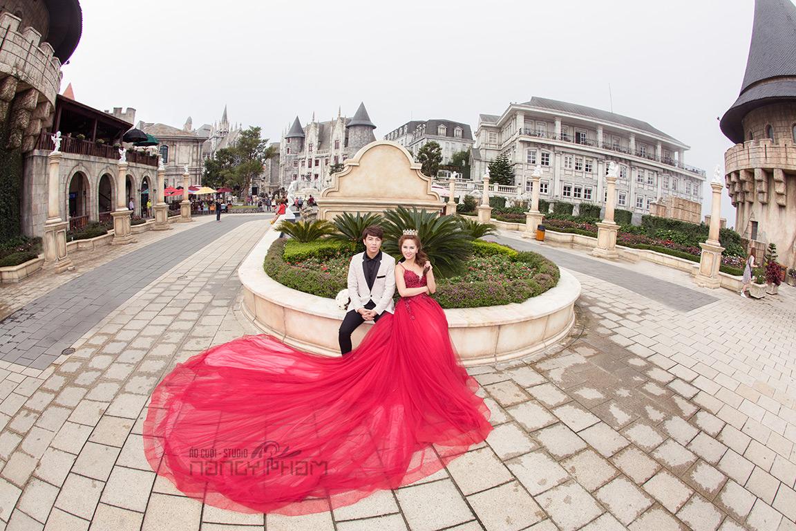 Chụp ảnh cưới tại Bà Nà Hills