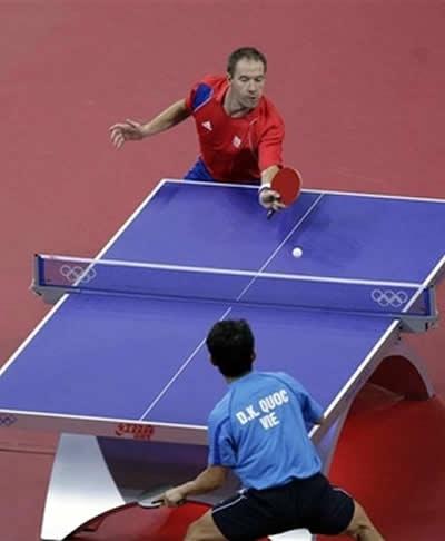 môn thể thao bóng bàn ping pong table tennis