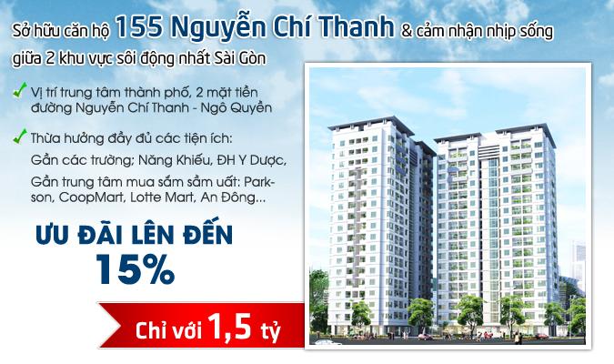 Căn hộ 155 Nguyễn Chí Thanh
