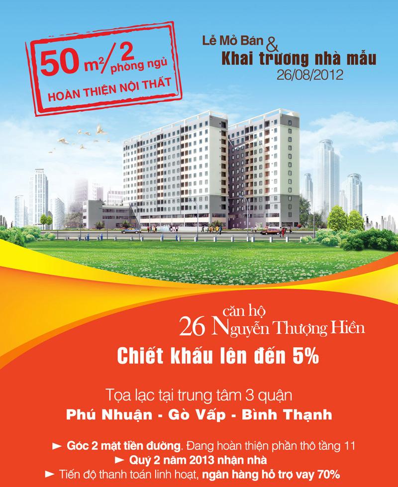 căn hộ 26 Nguyễn Thượng Hiền