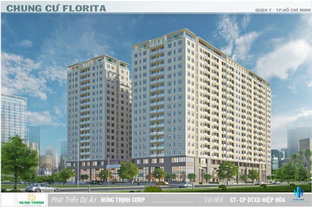 Tổng thể dự án căn hộ cao cấp Florita Quận 7