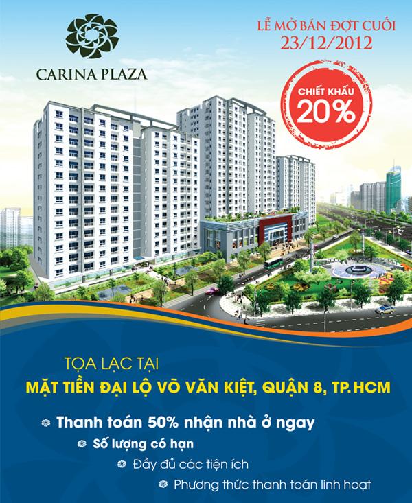 Căn hộ Carina Plaza