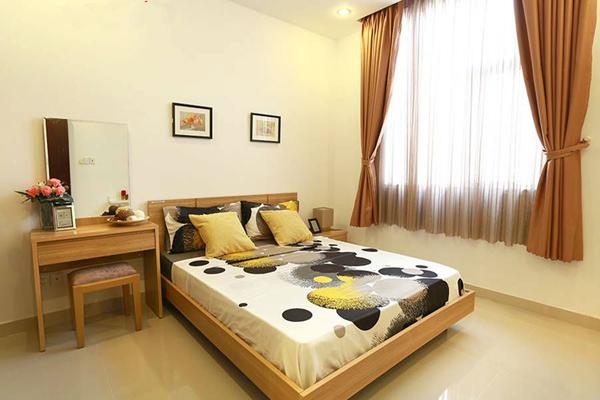 Phòng ngủ căn hộ mẫu florita