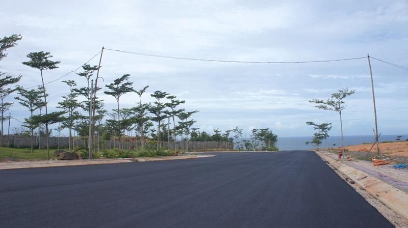 hạ tầng dự án sentosa 8